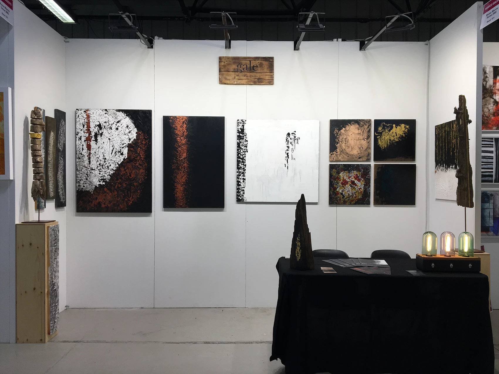 gale's stand at Vernice Art Fair
