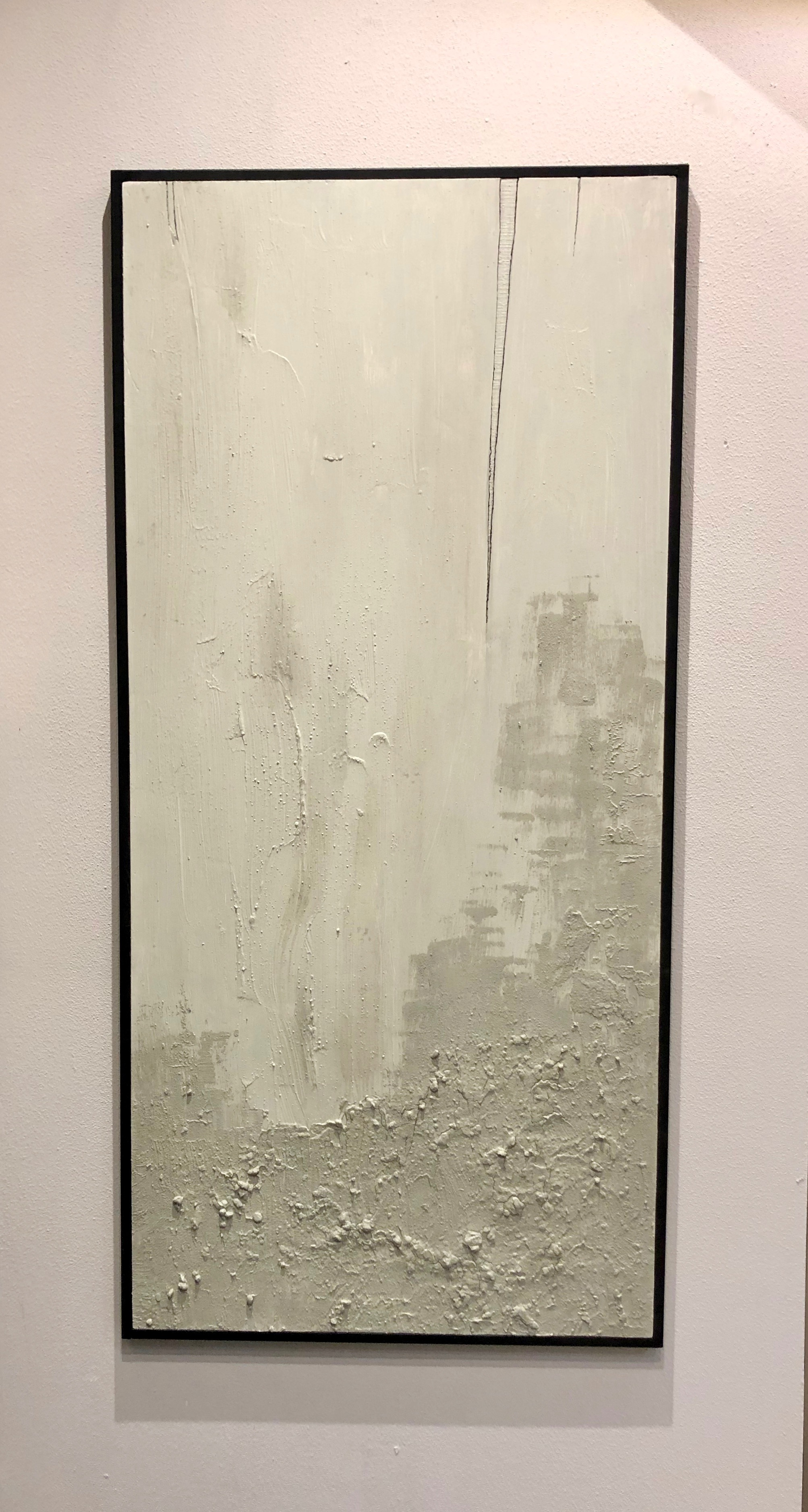 OPEN WOUNDS - Mixed media on 5mm plywood, 70x150cm, framed - AVAILABLE